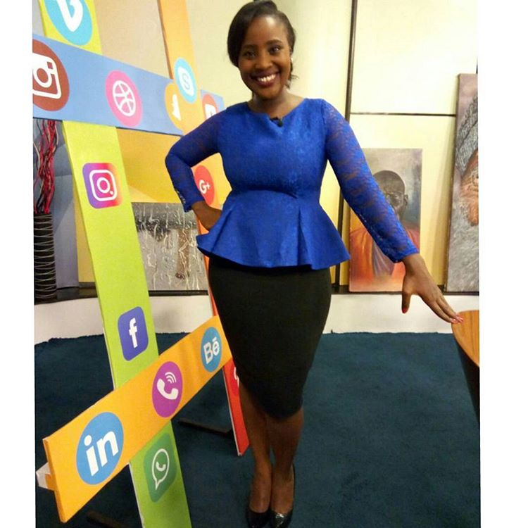 News anchor Zindzi Kibiku blasts lawyer Ahmednassir for claiming Kenyan TV ladies are picked according to booty and beauty