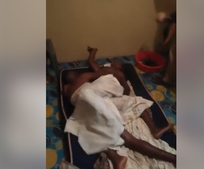 Not again! Vihiga man gets stuck while feasting on another man's wife(Video)