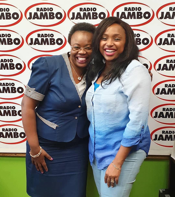 Kiambu Woman Representative Gathoni Wamuchomba with Massawe Japanni