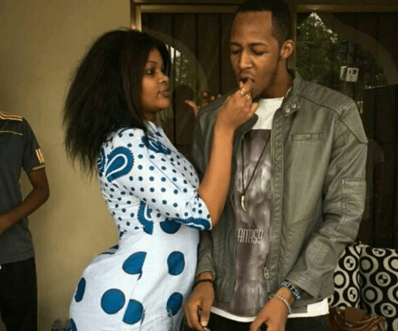 Wema Sepetu and Idris Sultan