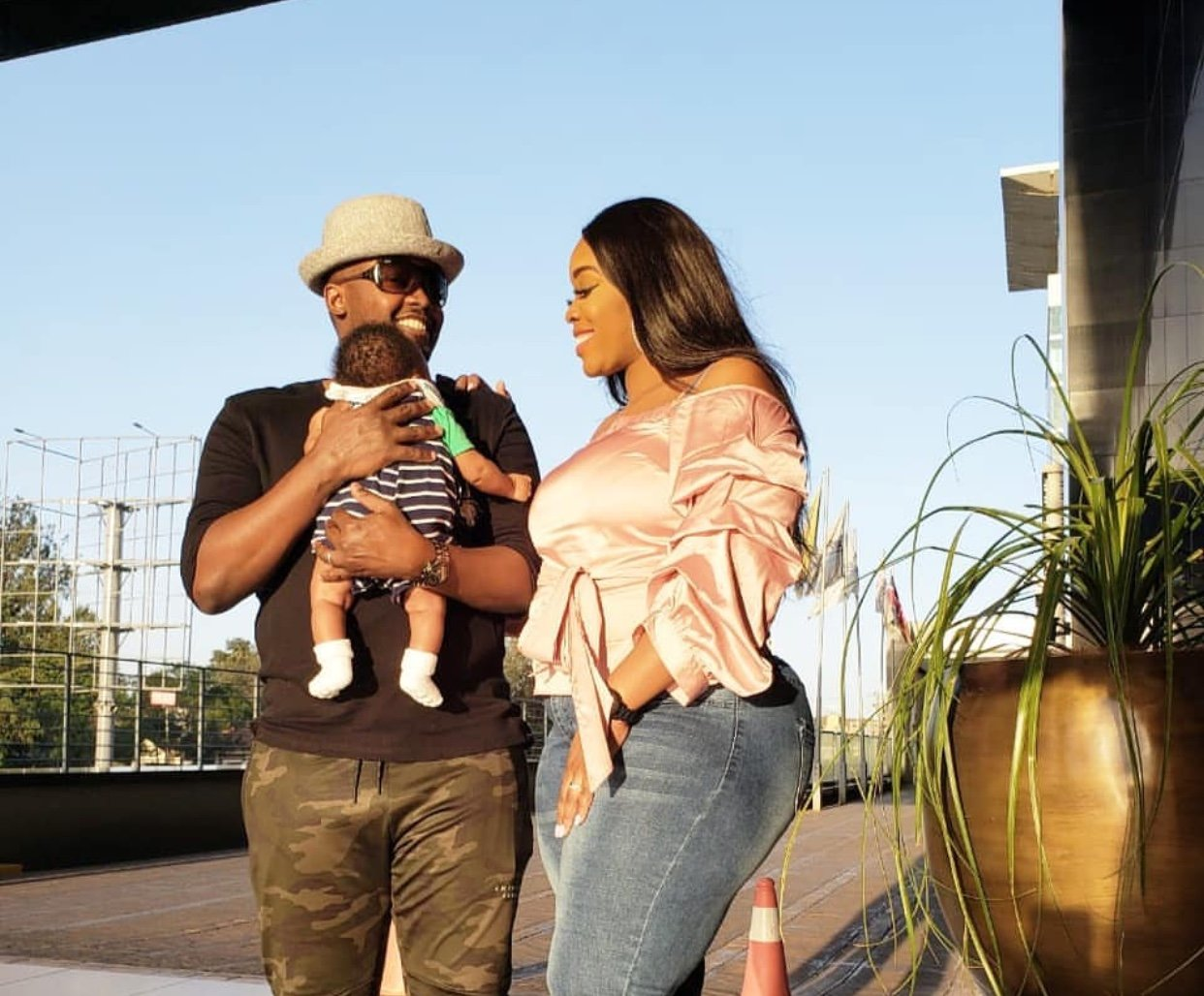 They grow up so fast! Risper Faith and Husband step out with their adorable old son (Photos)