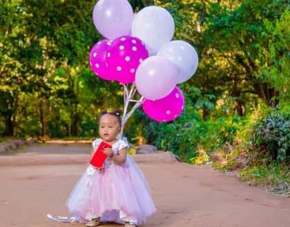 The Bahati's celebrate their daughter's 1st birthday!