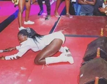 """The video making rounds on social media is not mine"" Akothee opens up about alleged sex tape"