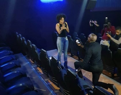 Wedding bells! Sauti Sol's Bien finally proposes to his long term girlfriend