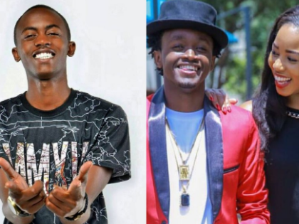Diana forced me to leave EMB records- Weezdom reveals how Bahati's wife frustrated his career