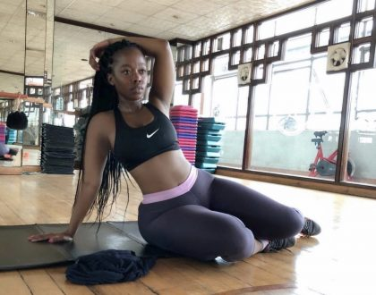 Corazon Kwamboka shares the secret behind her tiny waist and thick thighs!
