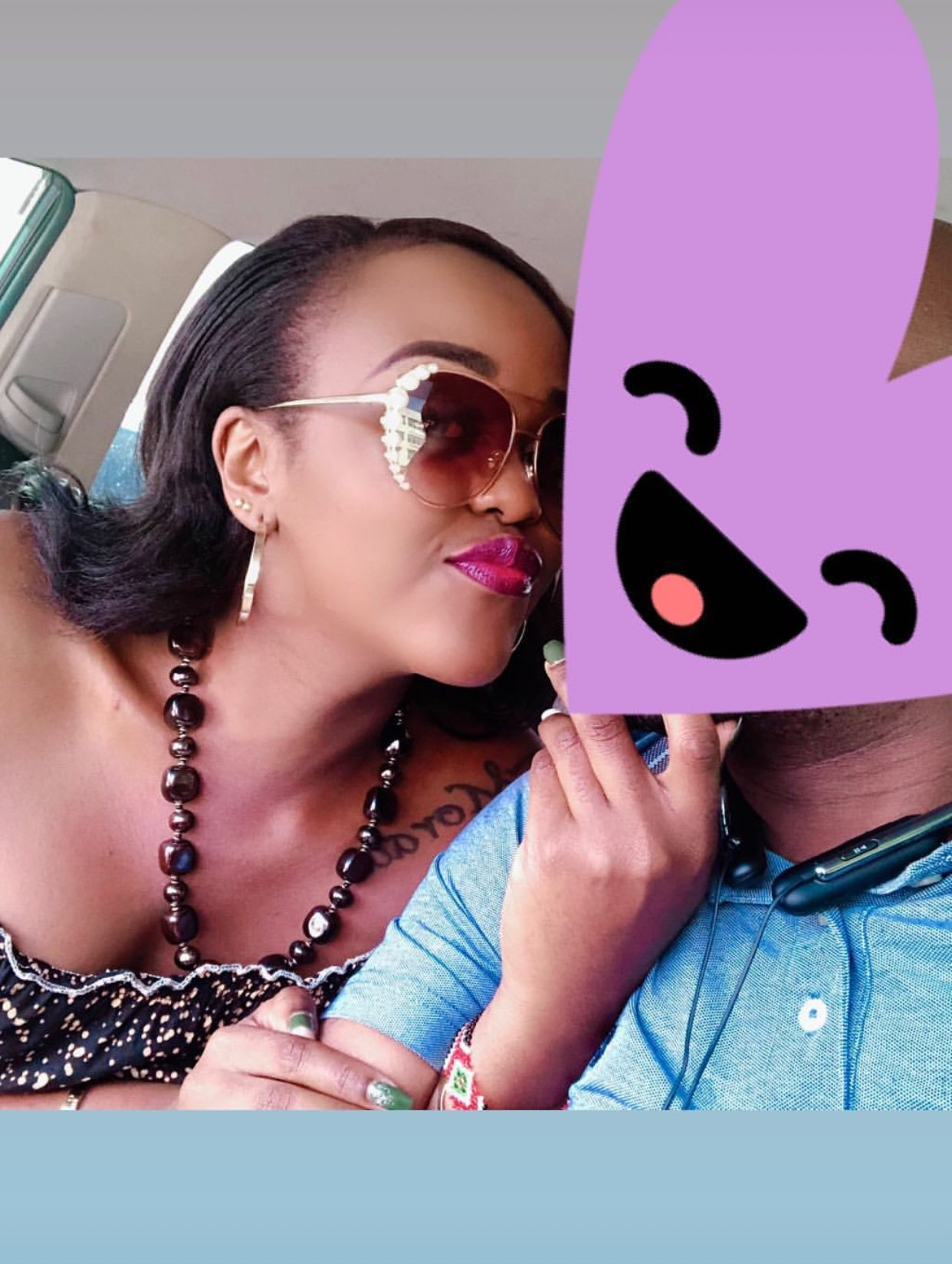 Chipukeezy's ex girlfriend flaunts her new man for everyone to see