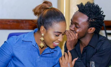 """Ai no!"" Diana Marua attracts mixed reactions after roasting her husband's new look"