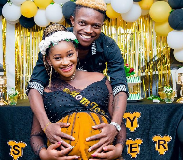 Fans happy 'jealous' Diana Marau 'wasn't invited' to Mr Seed's wife's baby shower(photos)