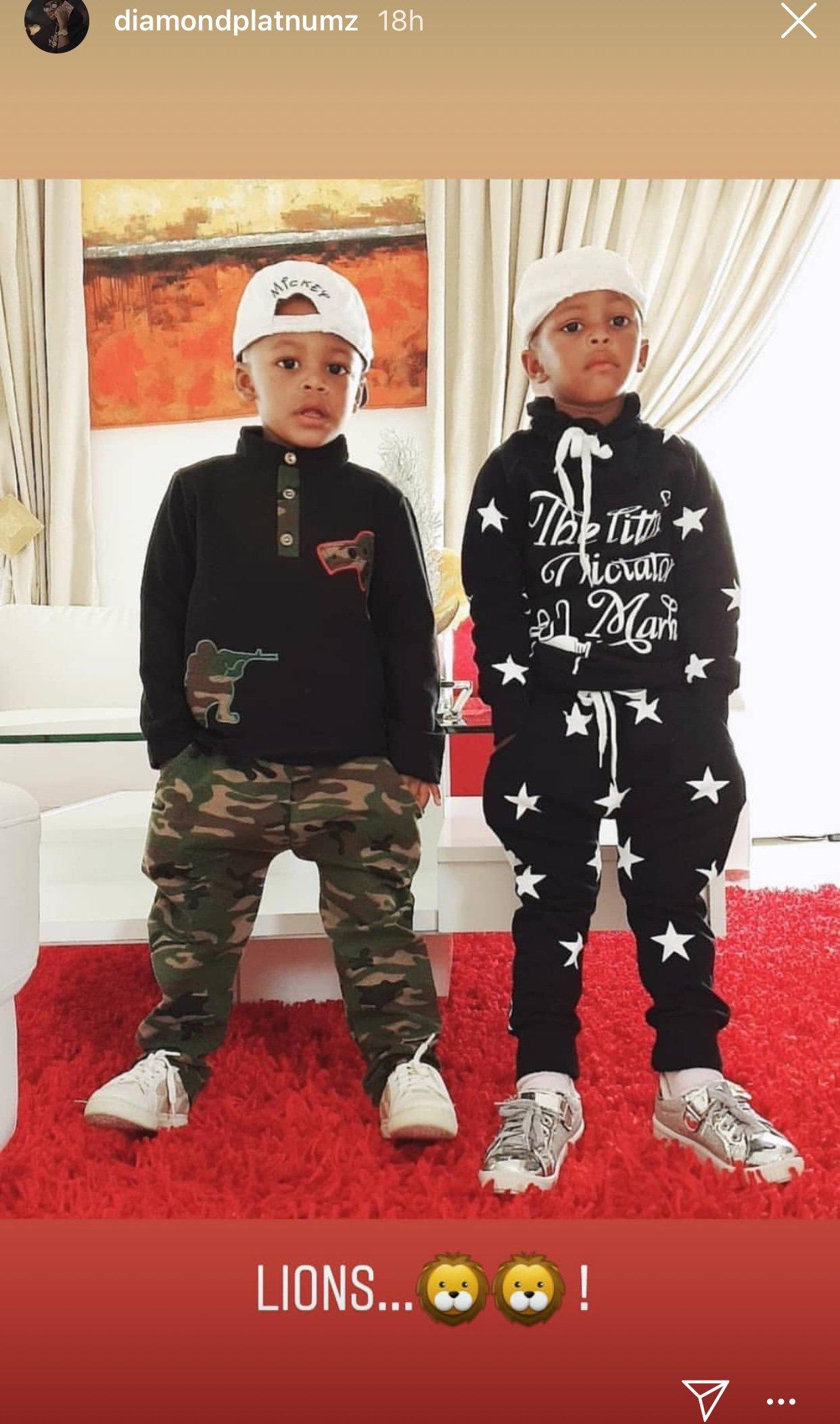 Diamond Platnumz's kids