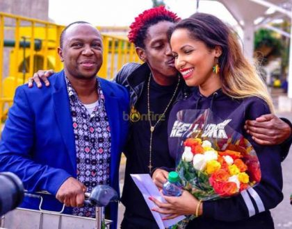 Eric Omondi's brother confirms wedding to fiance Chantal Grazioli is around the corner