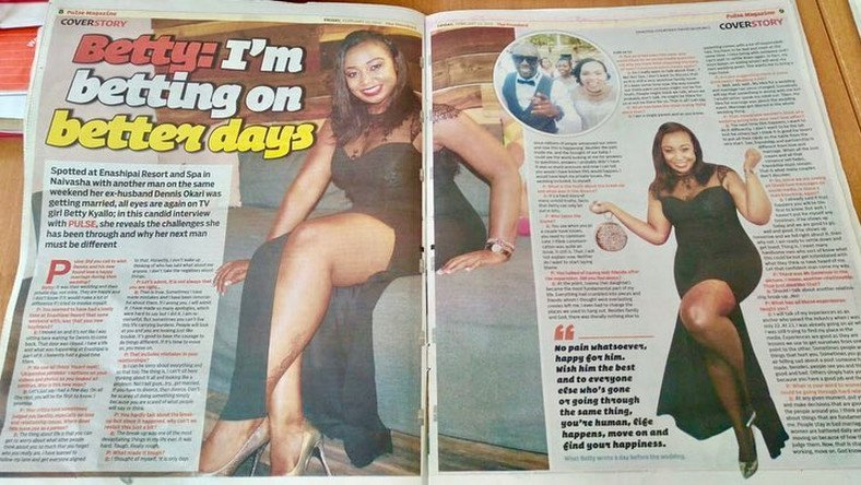 'What a shame. Desperate to sell copies by using my name' Betty Kyalo calls out Steve Muendo and Pulse Magazine