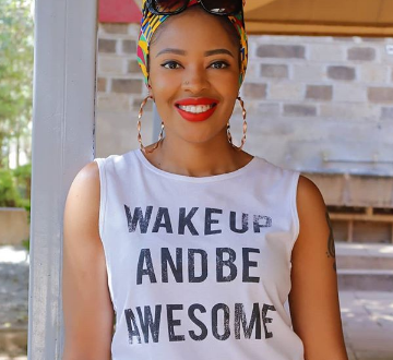 Awww! Heavily pregnant Kambua sends sweet lovely message to hubby during his birthday