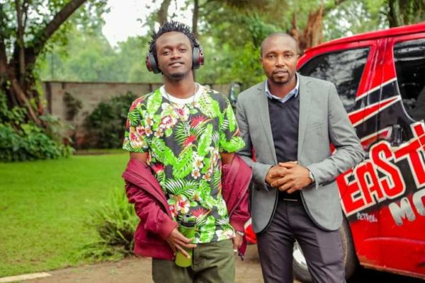 Bahati's brother and manager quits his record label days after Mr Seed