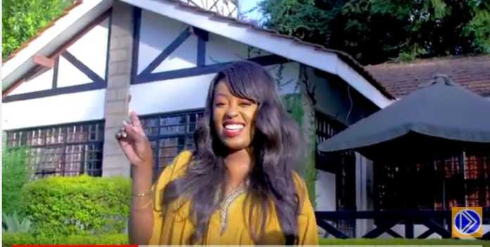 Now a video vixen! Lilian Muli appears in popular Kamba song