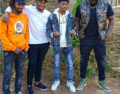 Kiboko remix featuring Khaligraph Jones is finally out and we are really feeling it (Video)