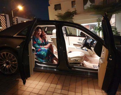 Money talks: Zari´s King Bae drives Rolls Royce worth Ksh 40 million