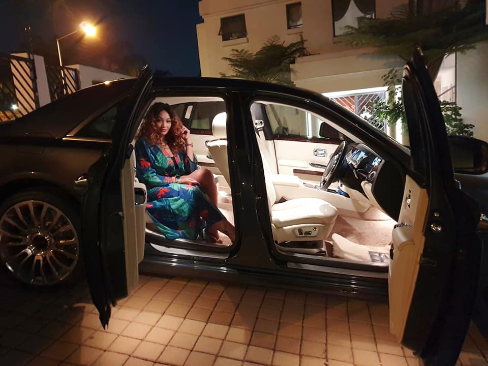 Money talks: Zari´s King Bae drives Rolls Royce worth Ksh 40 million
