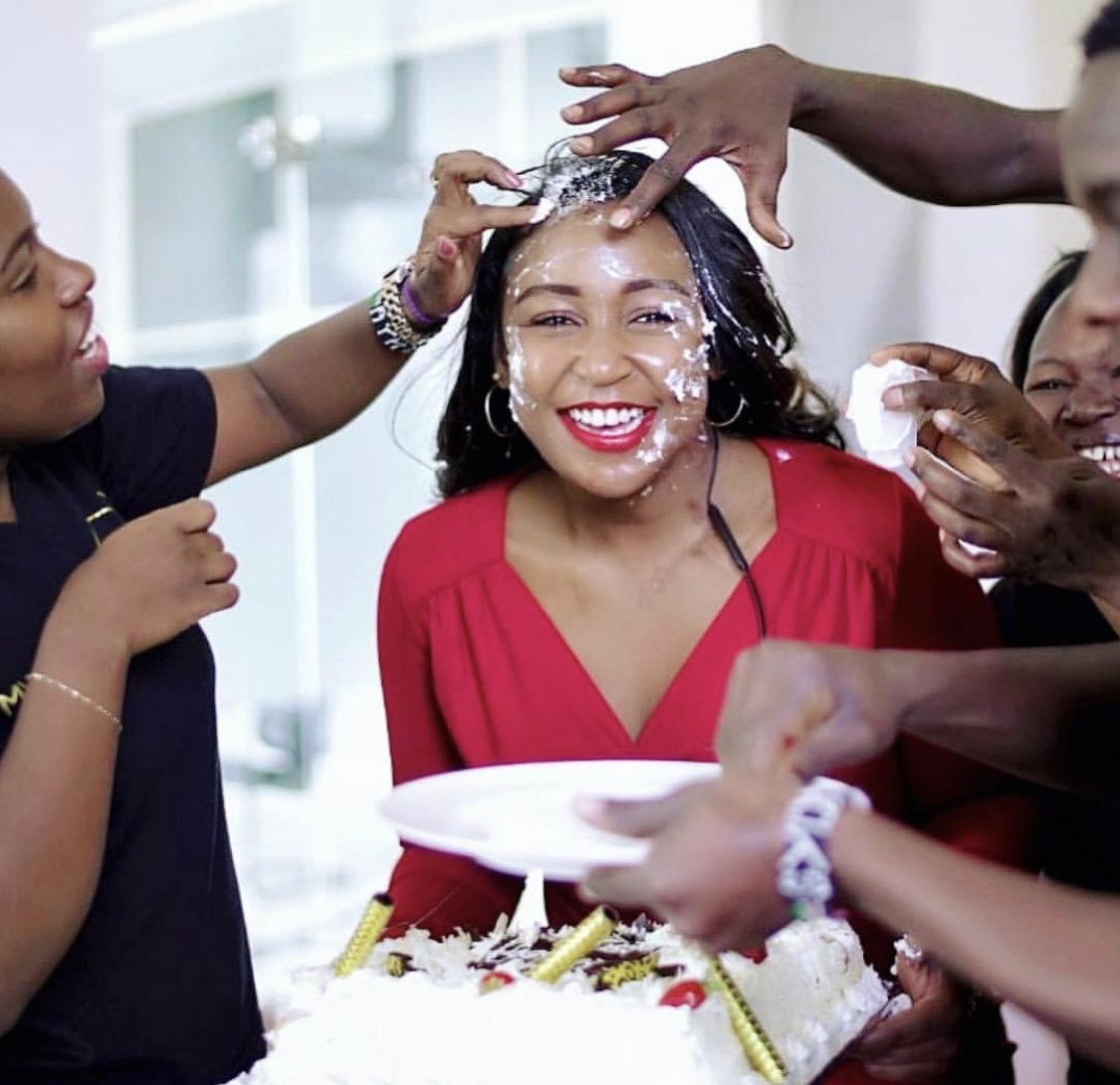 Dirty thirty! Betty Kyallo turns a year older in style