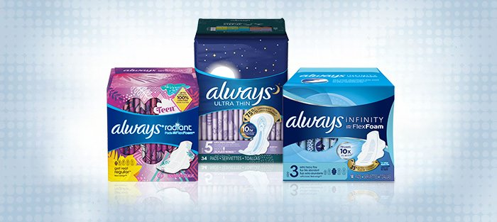 KEBS launches investigations into recent Always sanitary towels negative claims