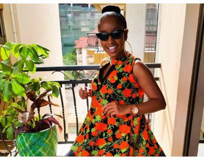 Anita Nderu has managed to finesse her ex-boyfriend
