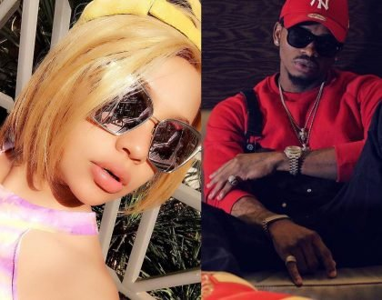 Diamond Platnumz back with his old flame?