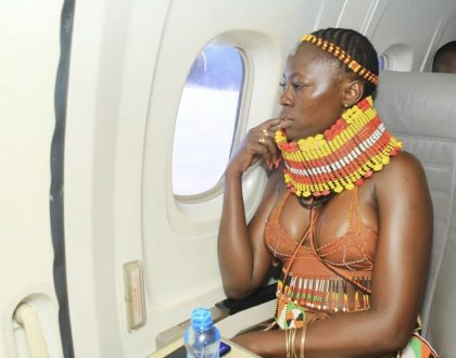 Zari drools over Akothee's boobs with this Comment