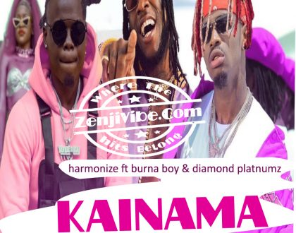 Harmonize,  Burna Boy & Diamond team up for 'Kainama'