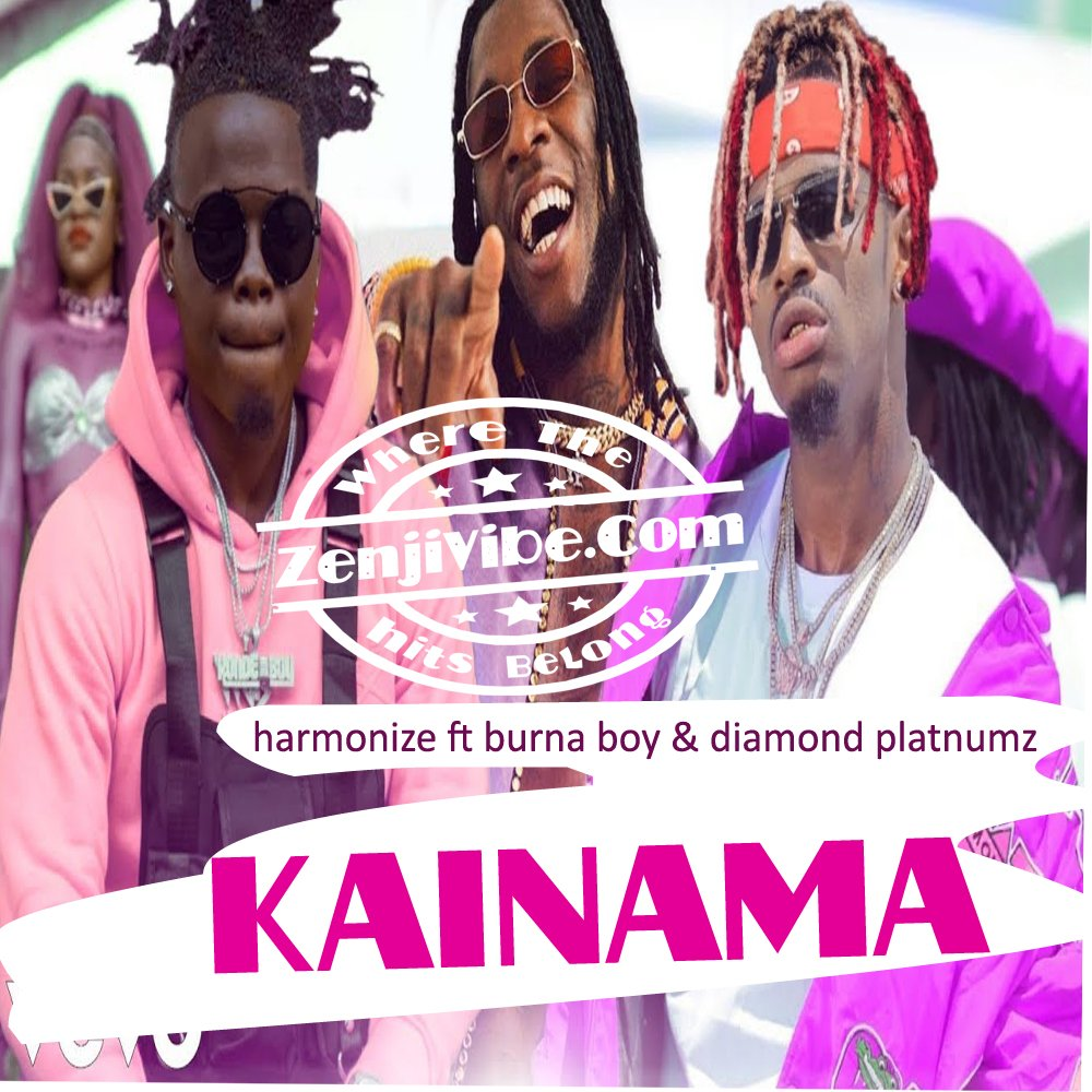 Harmonize,  Burna Boy & Diamond team up for 'Kainama'