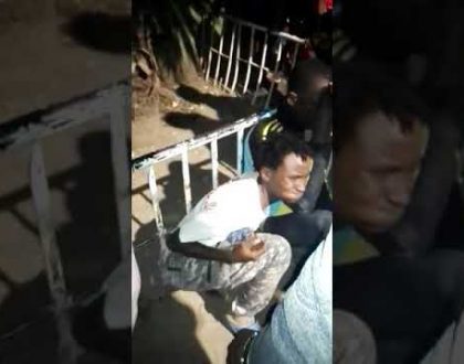 Video: Beloved singer SWAT beaten like a burukenge for allegedly trying to rob an apartment in Umoja