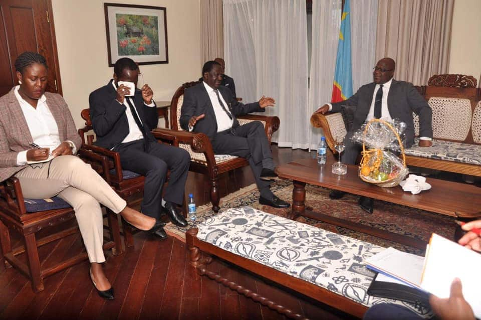 Is Raila´s last daughter, Winnie Odinga, her father´s personal aide?¨