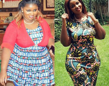 Caught pants down: Who are your sources Anerlisa Muigai when it comes to recounting your weight loss journey?