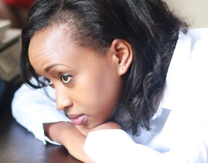 Renowned Kenyan media personality who battled ovarian endometriosis behind the cameras for more than a decade now