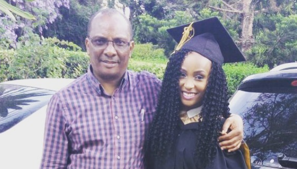 Joyce Maina struggling after father's death: Grief is more like a wave
