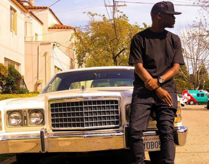 King Kaka almost arrested in the US for taking photos in the middle of the road