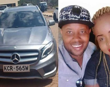 Meet the Embakasi MP´s wife who owns the Posh Mercedez that was seized by the DCI for tax evasion