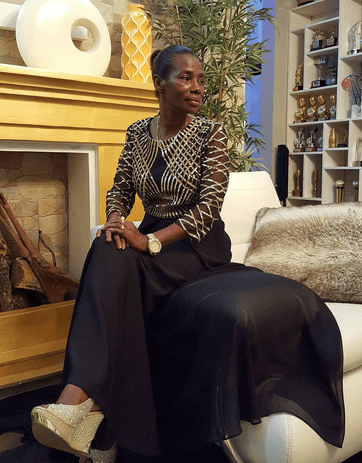 Aging like fine wine! Mama Dangote sensual photos with her Ben 10