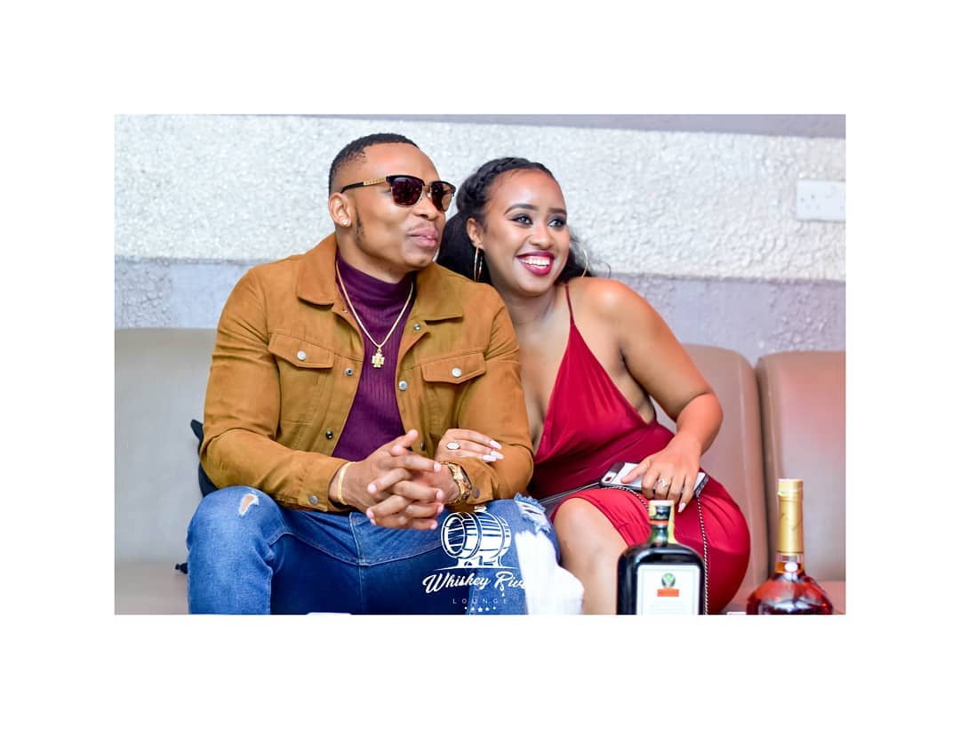 Photos: This is how Otile Brown´s magnificent birthday party went down, with his new Ethiopian Bae