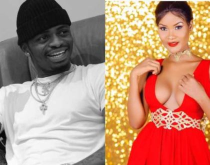 Spotted: Diamond Platinumz ex-lover Hamisa re-ignites the flame with Mwarabu Fighter
