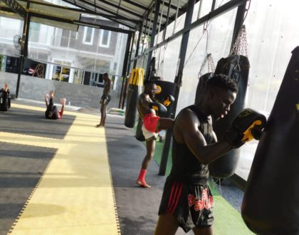 Meet the young fit men representing Kenya in Thiland For the Thai Boxing