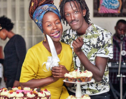 Comedienne Anne Kansiime posts romantic message to her new young catch as he turns a year older