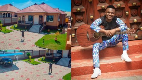 Mbosso's ex-manager rants following Mbosso's new mansion from Diamond