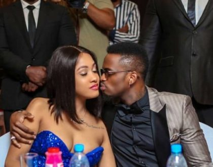"""My world, body and blood"" Diamond Platnumz showers Tanasha with praises"