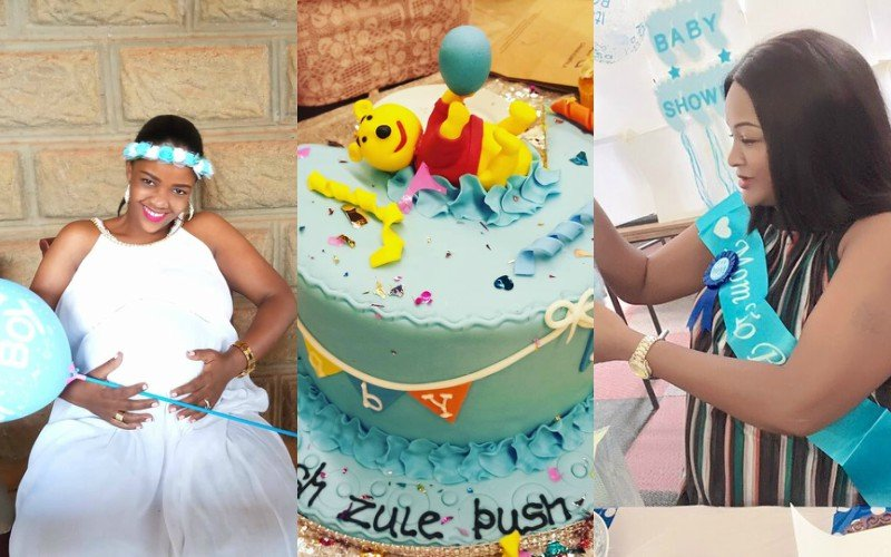 Stunning Photos from Zari Hassan´s sister, Zuleha´s baby shower that are serving goals