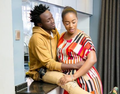 """Sorry for the times I have made you cry!"" Bahati pours out his heart to wife, Diana Marua"