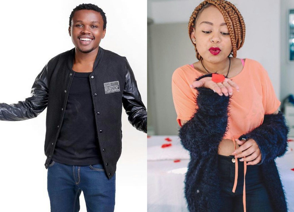 Kibanja spotted with handsome man weeks after Chipukeezy allegedly dumped her!