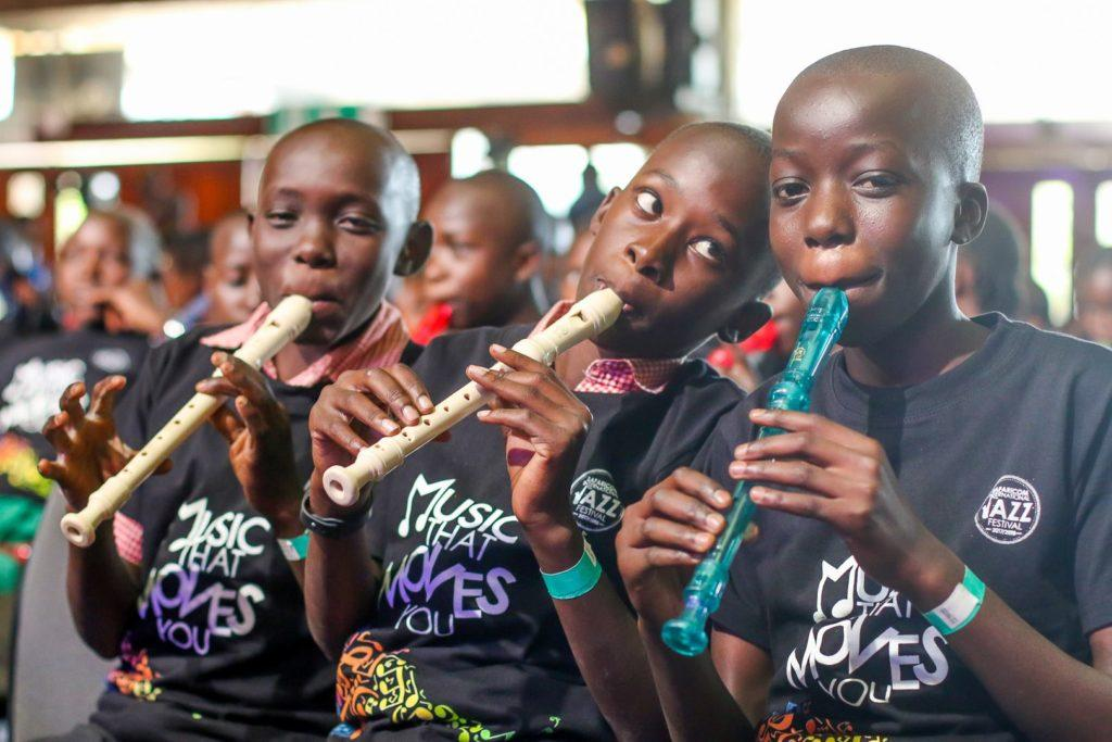 Incredibly talented kids from Korogocho slums to perform alongside Grammy Award winner