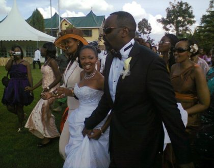 It has been seven years already? Kambua and husband celebrate anniversary