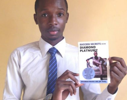 Meet the 24-year-old who loved Diamond's hustle so much that he wrote a book about him