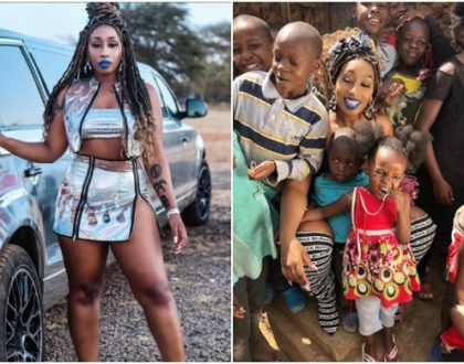 Singer Victoria Kimani slammed for going for charity dressed 'as a stripper'